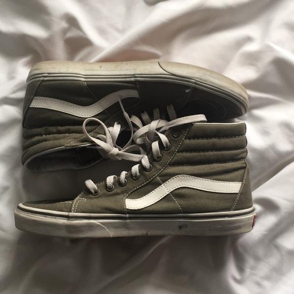 ada1ca7ac61ad9 Canvas Old Skool Olive Vans. M 5af4e39b3afbbd8179189906